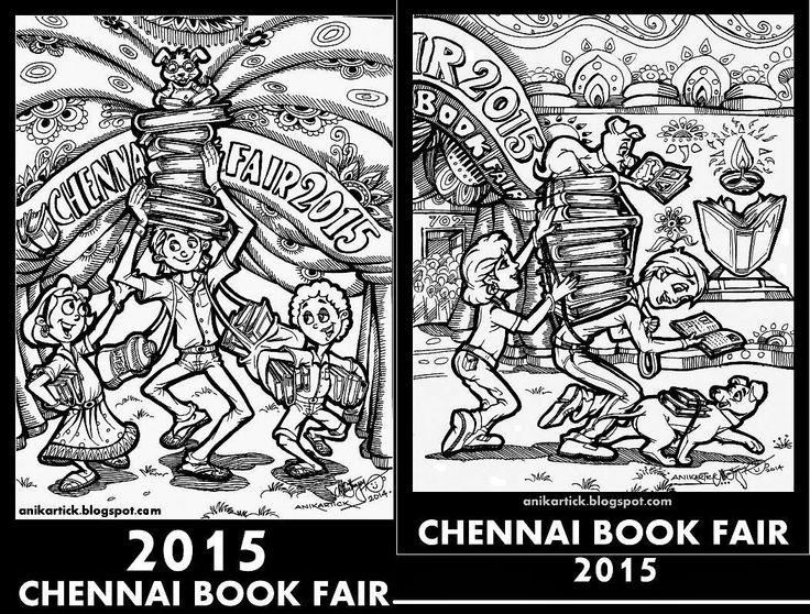 CHENNAI BOOK FAIR 2015 - 38th CHENNAI BOOK FAIR 2015 Welcomes You - Don't Miss it - Artist Anikartick, Chennai,TamilNadu,India.
