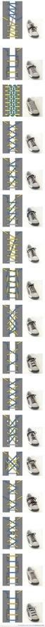 Shoe lace patterns #popular