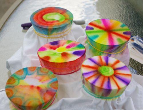Beneath the Rowan Tree: Creative Kids :: Sharpie 'Tie Dye' Party