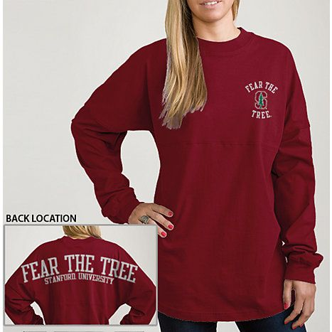 58 best college images on pinterest duffel bag school for Stanford long sleeve t shirt