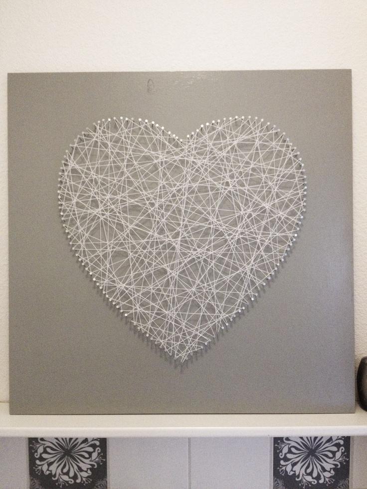 DIY Spijkerhart - Danielleaarts
