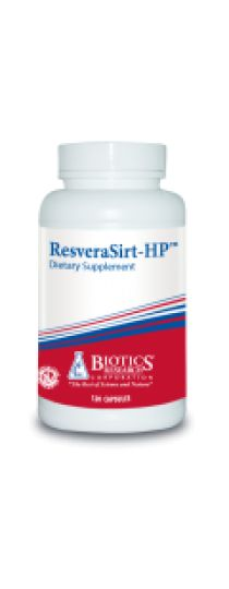 ResveraSirt-HP -  A specialized formulation to support vascular integrity and healthy aging