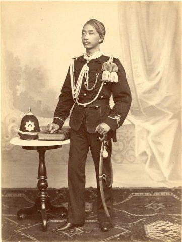 Paku Buwono IX van Surakarta, Java, Indonesië (1857-1896)