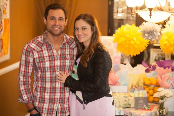gender neutral baby shower / Molly and Jason Mesnick