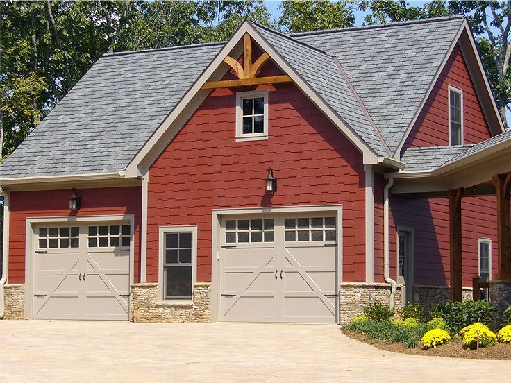 198 best carriage house plans images on pinterest for Craftsman carriage house plans