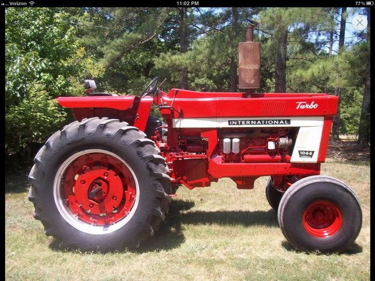 International 1466 Pulling Tractor : International turbo farmall