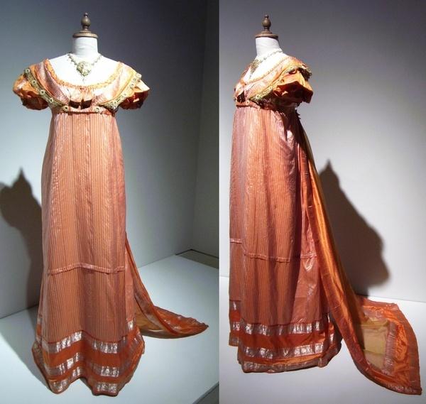 Caroline Bingley's dress from the BBC production of Pride and Prejudice