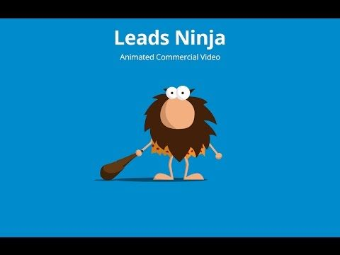 Animated commercial for Leads Ninja - YouTube