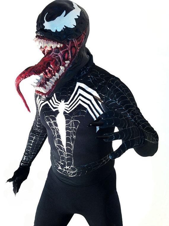Spider Man Villan- Venom Costume. $291.99, via Etsy.