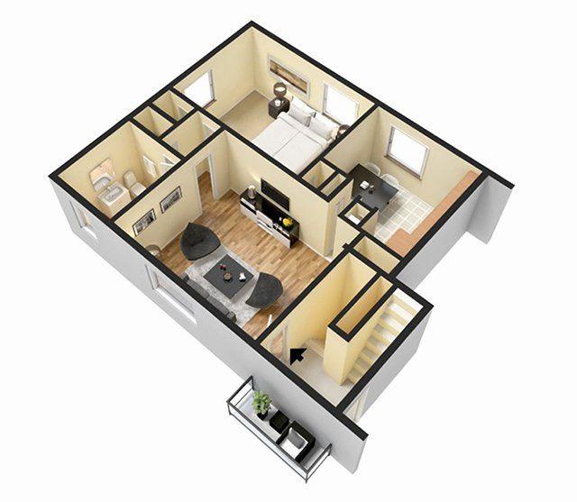 2 Bedroom House Plans 3d Fresh 3d Floor Plans 3d Home Design Free 3d Models Islaminjapanmedia Org 2 Bedroom House Plans Bedroom House Plans House Plans