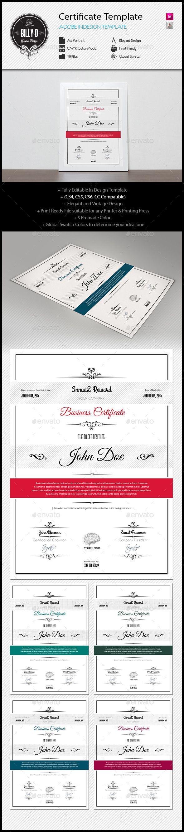 25 unique certificate templates ideas on pinterest free certificate template yadclub Images