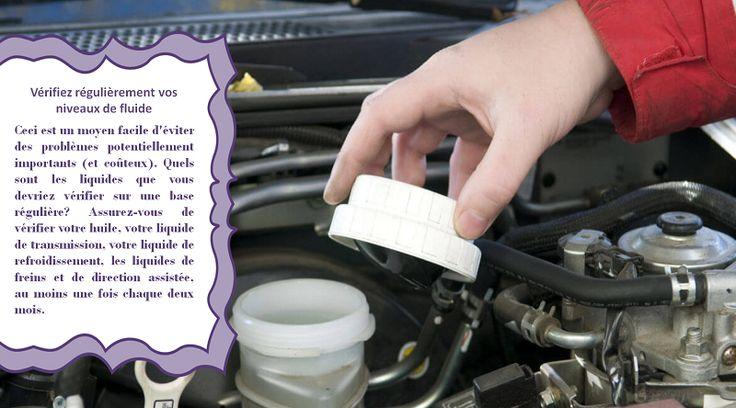 Changez la liquide de direction assistée Cette partie de votre véhicule vous aide à orienter avec un effort minimal. Assurez-vous de faire changer la liquide de direction assistée chaque 80500 kilomètres ou chaque trois ans. Si votre niveau de liquide est faible, vous pouvez avoir une fuite qui devra être examiné par un mécanicien. #pneuhivernoncloute