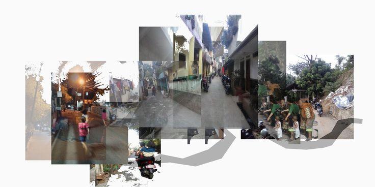 pengaruh keterbatasan lahan parkir dengan akses dan lebar jalan di kelurahan Pondok Pinang, mengakibatkan warga kehilangan akses untuk berinteraksi dan anak anak urung untuk bermain di sekitar lahan tempat berparkir