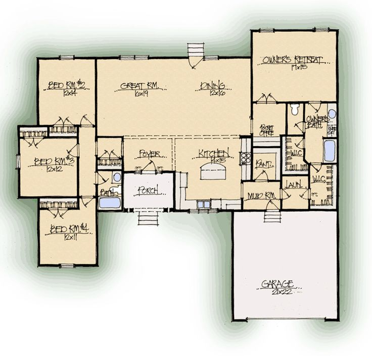 80 best dream house ideas images on pinterest house for Custom dream home floor plans