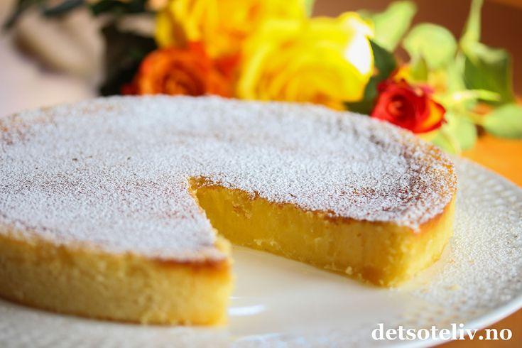 Sitronkladdekake | Det søte liv