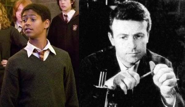 OTHER CONNECTIONS: Alfie Enoch, who plays Dean Thomas in the Harry Potter films is the son of William Russell, who played Ian Chesterton, one of The Doctor's first companions.  (buzzfeed.com)