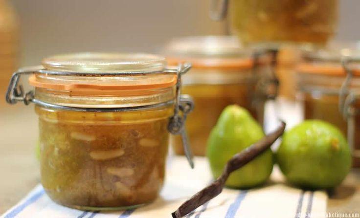 Un hommage à ma maman qui nous prépare chaque année en Corse de délicieuses confitures de figues.