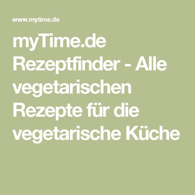 myTime.de Rezeptfinder - Alle vegetarischen Rezepte für die vegetarische Küche