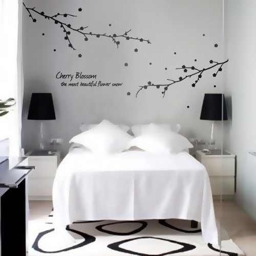 90 best images about branches wall decal on pinterest for Cherry blossom bedroom ideas