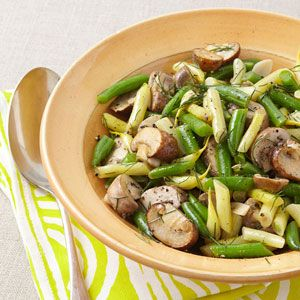 This green bean salad recipe is a versatile warm-weather side dish that is great made a few hours ahead. Try this recipe for Mushroom & String Bean Salad as a side dish for dinner tonight.