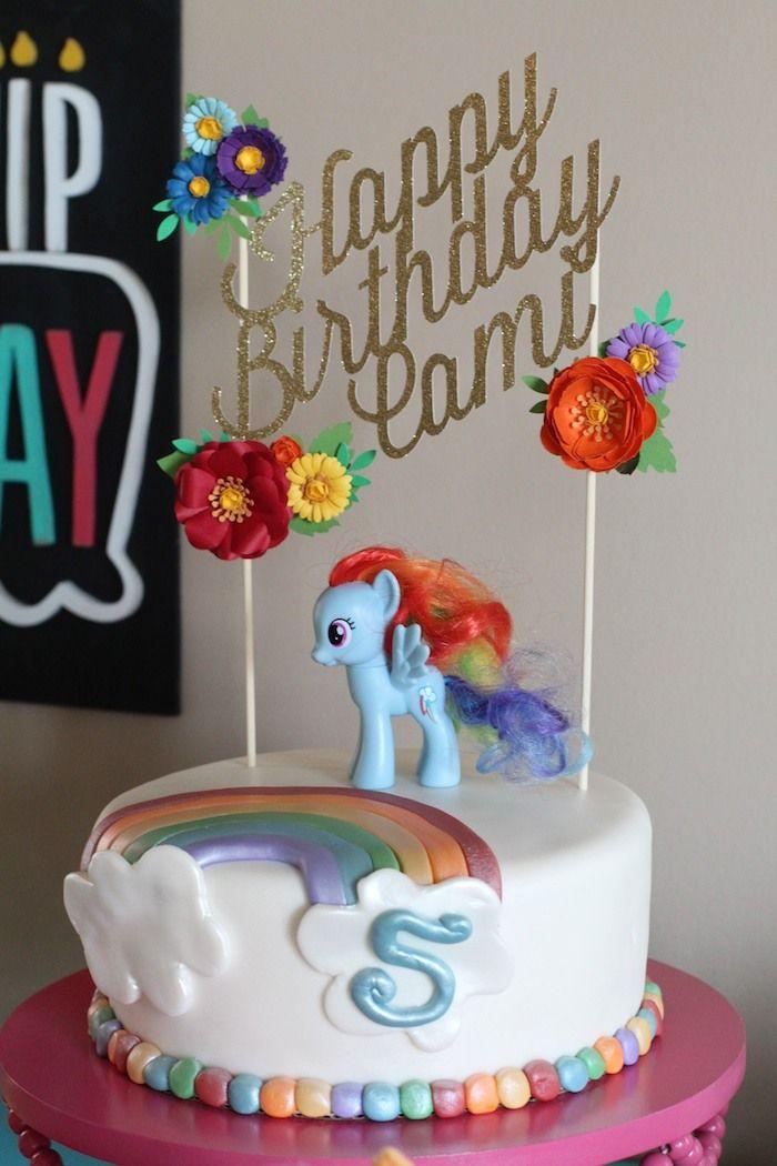 My Little Pony Rainbow Dash Birthday Party via Kara's Party Ideas KarasPartyIdeas.com Invitation, cake, supplies, recipes, games, and more! #mylittlepony #rainbowparty #rainbow #rainbowbirthday #mylittleponyparty (17)