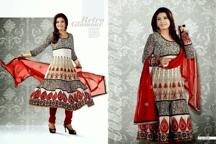 Latest Designs Of Indian Anarkali Frocks | Party Wear Frocks Designs From 2014 | 7pm Dress