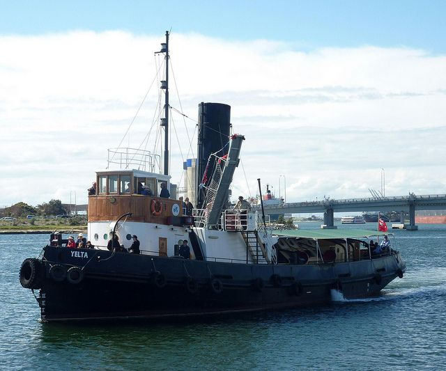 Steam Tug Boats | Steam powered tug boat Yelta at Port Adelaide | Flickr - Photo Sharing ...