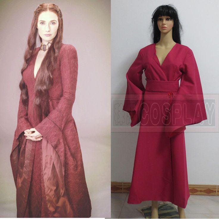 Game of Thrones Melisandre Cosplay Costume Carice van Houten Red Dress  //Price: $US $76.46 & FREE Shipping //     #asoiaf #gameofthrones #valarmorghulis #jonsnow #stark #lannister #daenerys #winteriscoming #targaryen #sansastark #khaleesi #robbstark  #khaldrogo #ayrastark