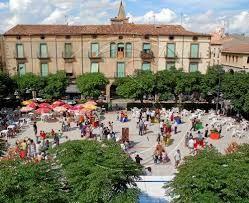 Plaza del mercadal agramunt