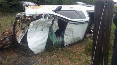 Um grave acidente de trânsito com duas vítimas fatais aconteceu na manhã deste sábado dia (05), ...