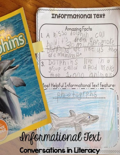 Giving Students Choices with Informational Text- Love this 5 page Freebie!! Perfect for second and third graders!