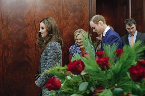 December 8, 2014 - Catherine, Duchess of Cambridge and Prince William, Duke of Cambridge attend a reception co-hosted by the Royal Foundation and the Clinton Foundation at British Consul General's Residence in New York City.