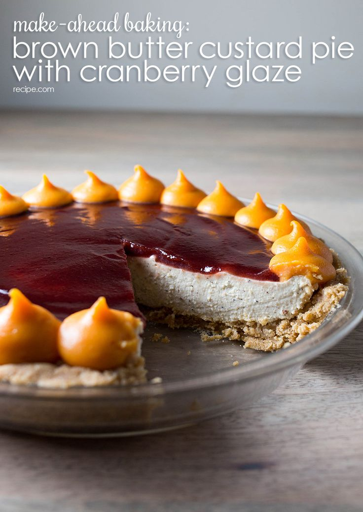 Honey-Pecan Tart With Chocolate Glaze Recipe — Dishmaps