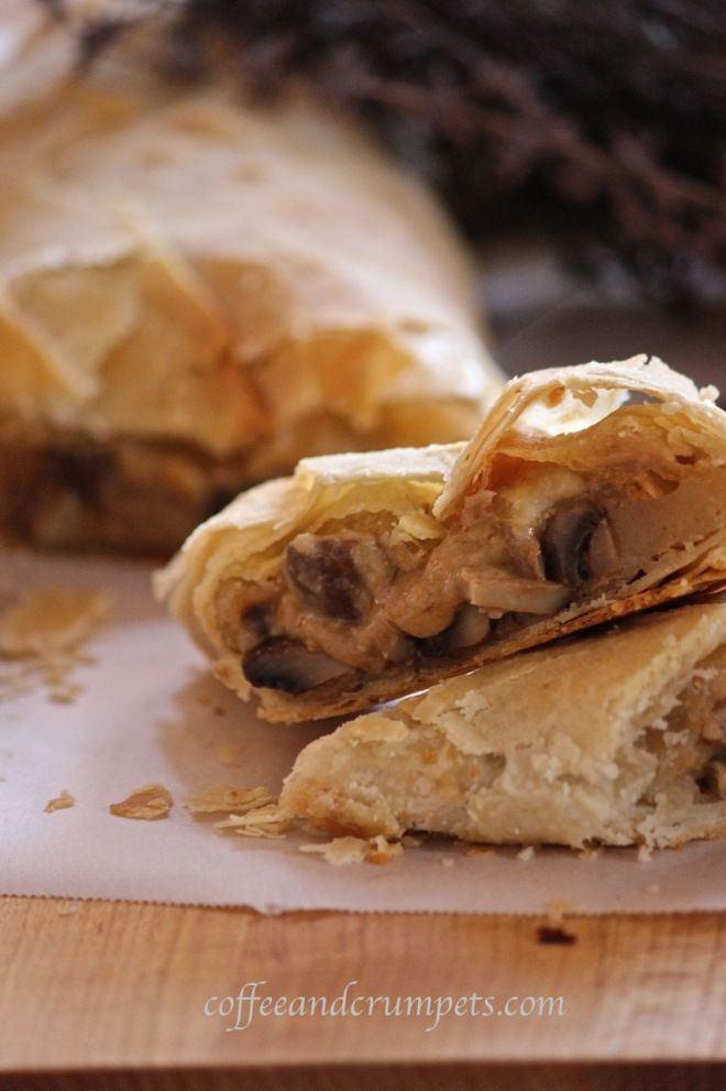 Mushroom Strudel | Recipes to Try | Pinterest