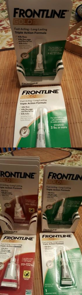 Flea and Tick Remedies 20738: Frontline Gold For Cats/Kittens 3Lbs+ . 6 Month Supply BUY IT NOW ONLY: $40.0