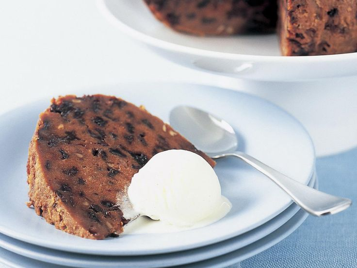 A simple Christmas pudding recipe that's bursting with fruit and lightly spiced.