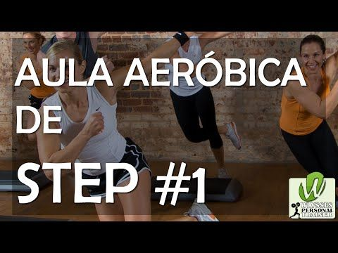 Aula Aeróbica de Step #1 - Para Fazer em Casa e Derreter Gordura Abdominal - Iniciante - YouTube