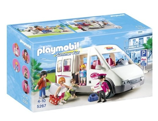 Jeu de construction PLAYMOBIL (2013) 5267 - Mini-bus de l'hôtel