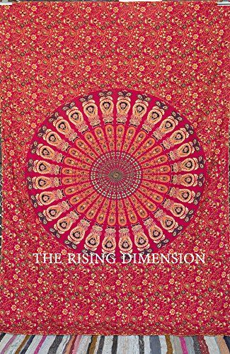The Rising Dimensions Kantha Work Mandala Tapestry Unique Tapestry Hippie Wall Hanging RD http://www.amazon.com/dp/B00SPW949S/ref=cm_sw_r_pi_dp_JZFXub1KE7DWS