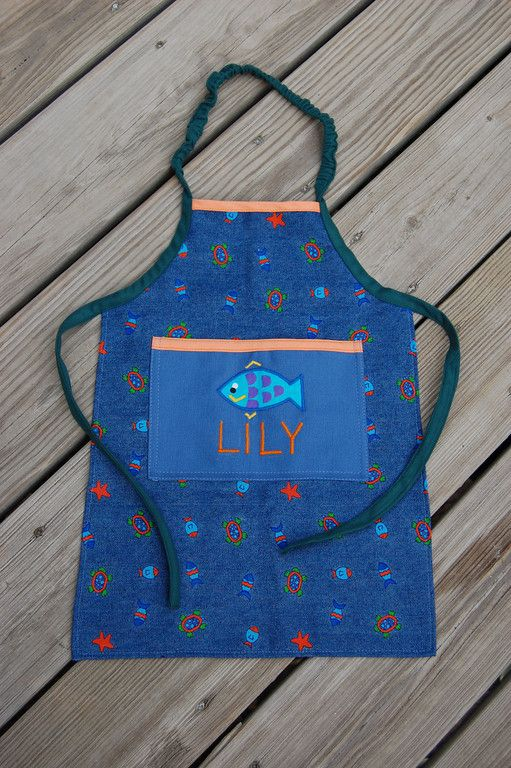 How To Sew An Elasticized Apron (for Kids)