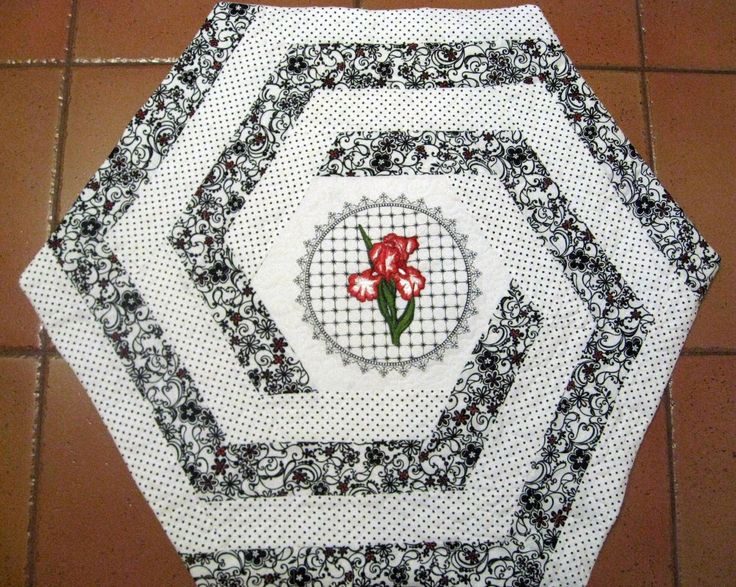 70 Best Images About Quilts Hexagons On Pinterest