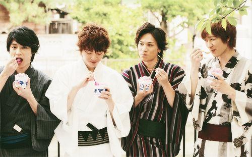 Kis-My-Ft2: Wataru Yokoo × Yuta Tamamori × Kento Senga × Toshiya Miyata / キスマイ: 横尾渉・玉森裕太・千賀健永・宮田俊哉