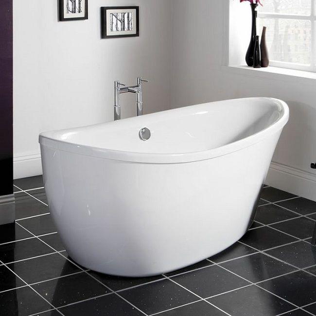 free standing baths milano tear drop bath