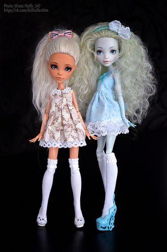 Eva and Lagoona   por fluffy_347