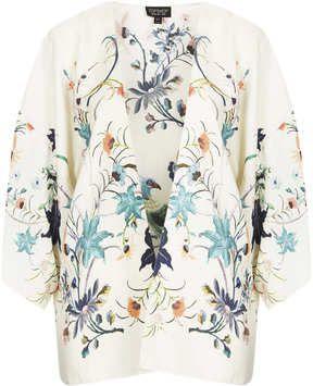 Bird Print Kimono on shopstyle.co.uk
