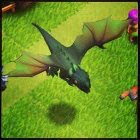 let there be Dragons! Clash Of Clans
