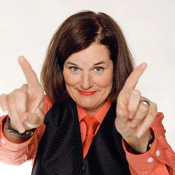 """Saw Paula Poundstone recently. She was a total hoot! Amazing ad-libber. Love her on """"Wait Wait, Don't Tell Me'"""