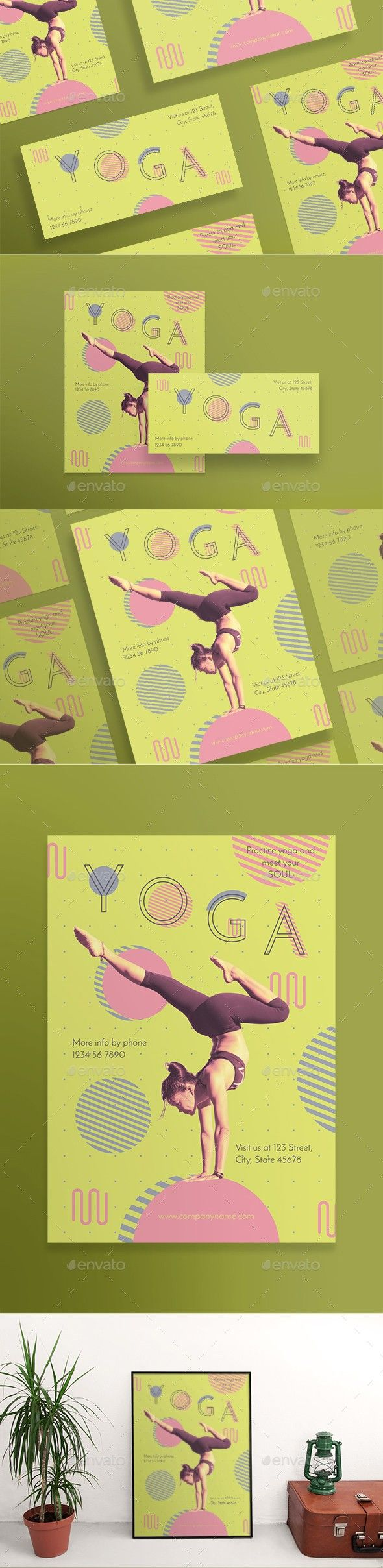 Yoga flyers pinterest flyer layout and flyer template stopboris Gallery