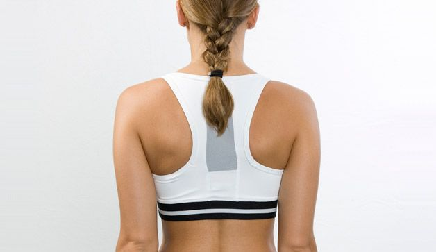 The Best Exercise For Back Fat Get rid of bra bulge with this easy move. The lat pull-down is one of the best exercises for fighting bra bulge, and using a pronated grip (palms facing away from your body) activates more muscles, researchers found. Here's how to score the benefits.