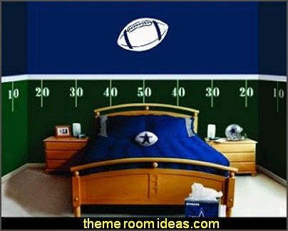Football Field Wall Decal Kits